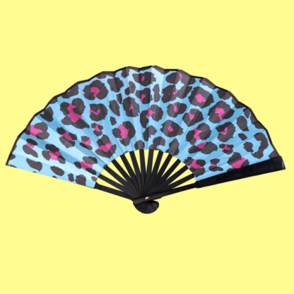 Leopard Fan - Back view