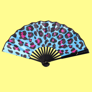 Leopard Fan - Front view